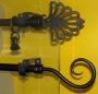 16 mm fekete szimpla 100 cm